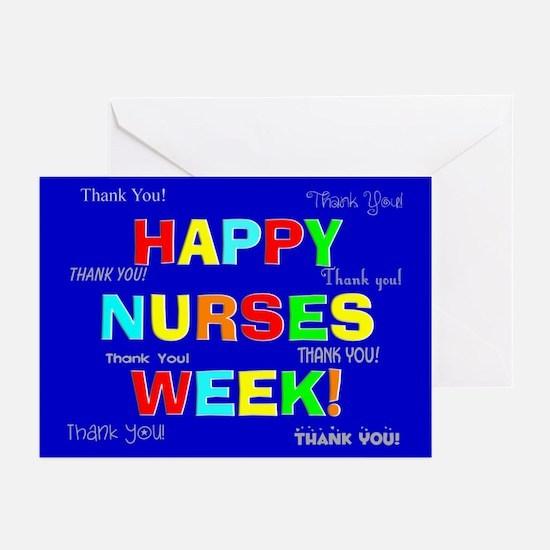 Happy Nurses week CP 1 Greeting Cards (Pk of 10)