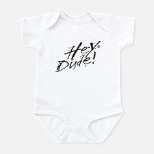 Hey Dude Logo Infant Bodysuit