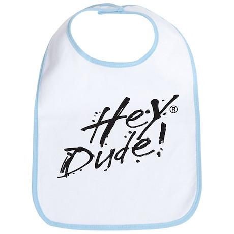 Hey Dude Logo Bib