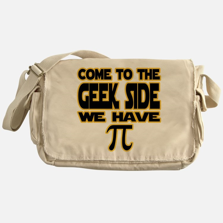 Come to the geek side we have pi Messenger Bag
