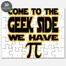 Come to the geek side we have pi Puzzle