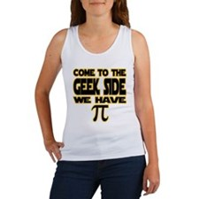 Come to the geek side we have pi Tank Top