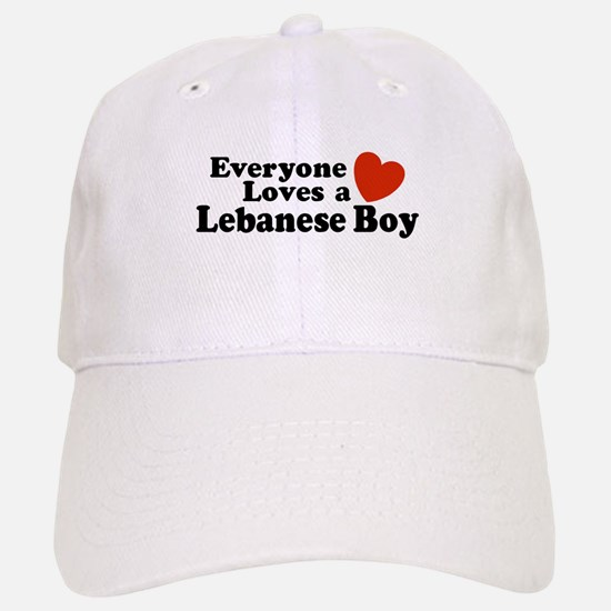 Everyone Loves a Lebanese Boy Baseball Baseball Cap