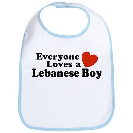 Everyone Loves a Lebanese Boy Bib