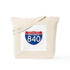 Interstate 840 - NC Tote Bag