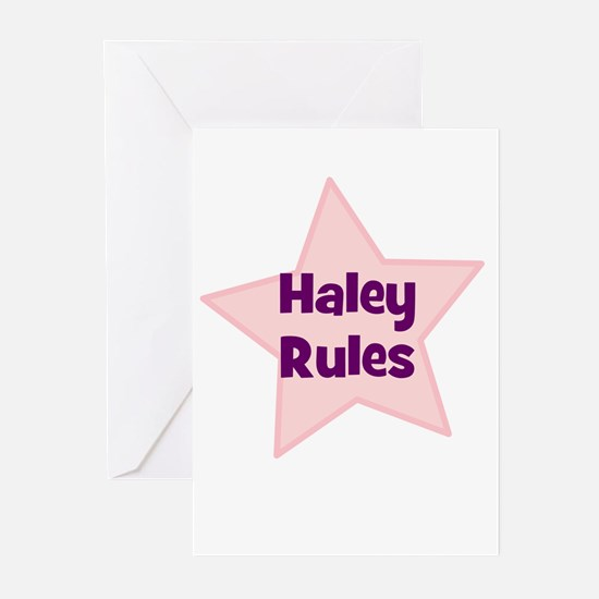Haley Rules Greeting Cards (Pk of 10)