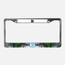 Wyoming Brown Trout License Plate Frame