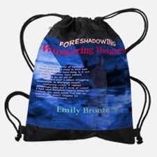 Wuthering Heights Foreshadowing Drawstring Bag