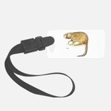 Muskrat Animal Luggage Tag