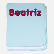 Beatriz Red Caps baby blanket