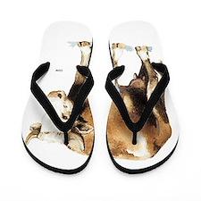 Cattle Cow Farm Animal Flip Flops