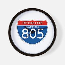 Interstate 805 - CA Wall Clock
