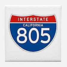 Interstate 805 - CA Tile Coaster