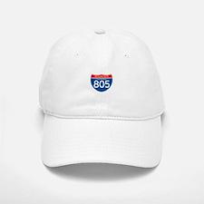 Interstate 805 - CA Baseball Baseball Cap