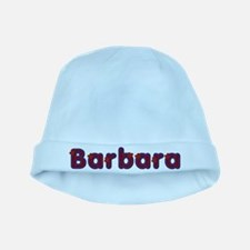 Barbara Red Caps baby hat