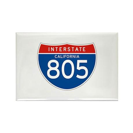 Interstate 805 - CA Rectangle Magnet