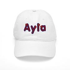 Ayla Red Caps Baseball Cap
