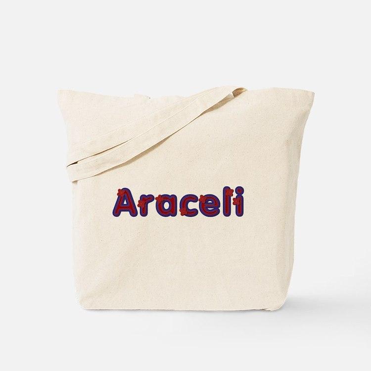 Araceli Red Caps Tote Bag