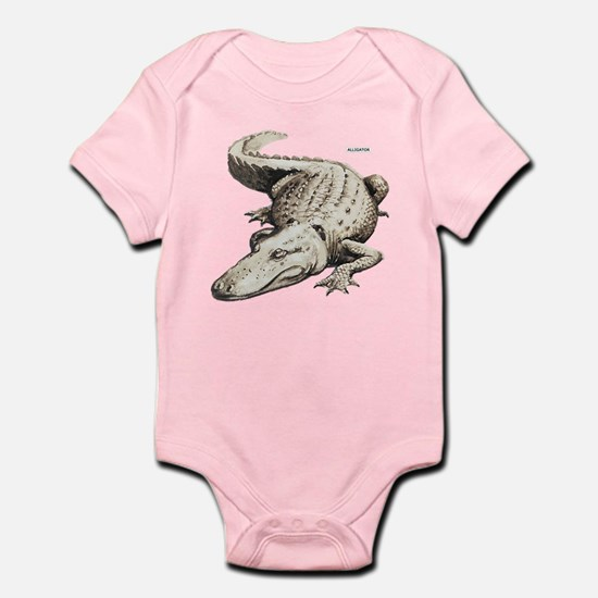 Alligator Gator Animal Infant Bodysuit
