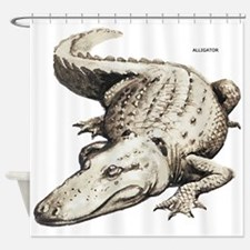 Alligator Gator Animal Shower Curtain
