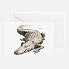 Alligator Gator Animal Greeting Card