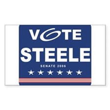 Vote Michael Steele Rectangle Decal