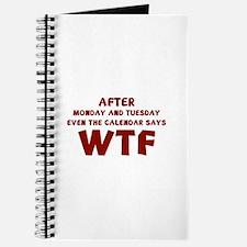 The Calendar Says WTF Journal