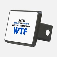 The Calendar Says WTF Hitch Cover