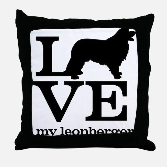 Love my Leonberger Throw Pillow