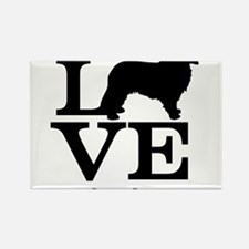Love my Leonberger Rectangle Magnet