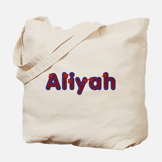 Aliyah Red Caps Tote Bag