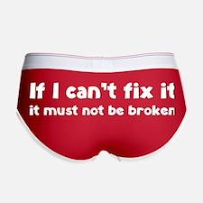 If I can't fix it it must not be broken Women's Bo