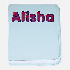 Alisha Red Caps baby blanket