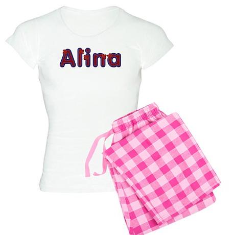 Alina Red Caps Pajamas