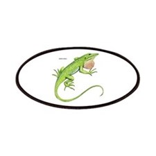 Green Anole Lizard Patches
