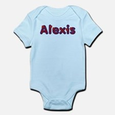 Alexis Red Caps Body Suit