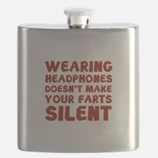 Farts Silent Flask