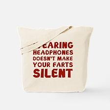 Farts Silent Tote Bag