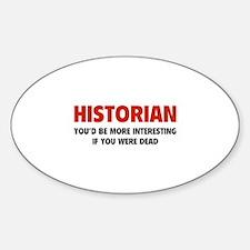 Historian Decal