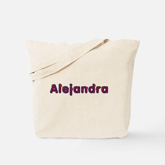 Alejandra Red Caps Tote Bag