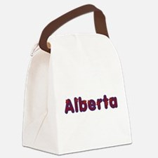 Alberta Red Caps Canvas Lunch Bag