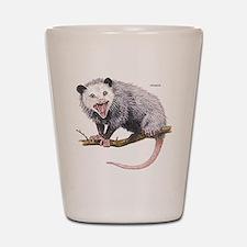 Opossum Possum Animal Shot Glass