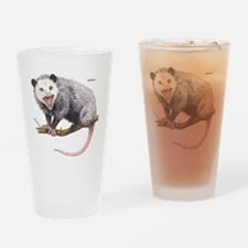 Opossum Possum Animal Drinking Glass