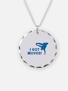 I GOT MOVES! Necklace