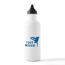 I GOT MOVES! Water Bottle