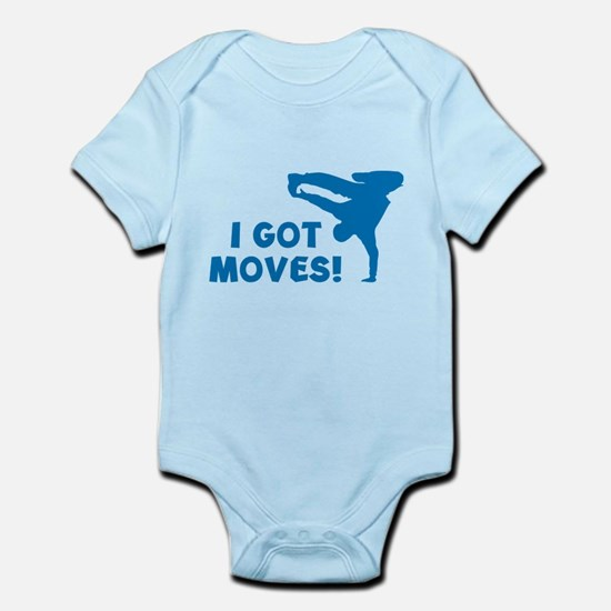 I GOT MOVES! Infant Bodysuit