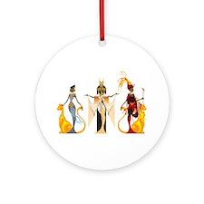 The Divas of Egypt Ornament (Round)