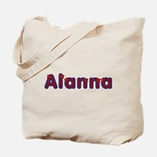 Alanna Red Caps Tote Bag