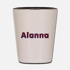 Alanna Red Caps Shot Glass