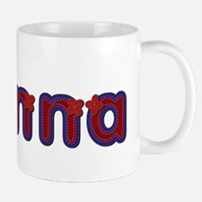 Alanna Red Caps Small Small Mug